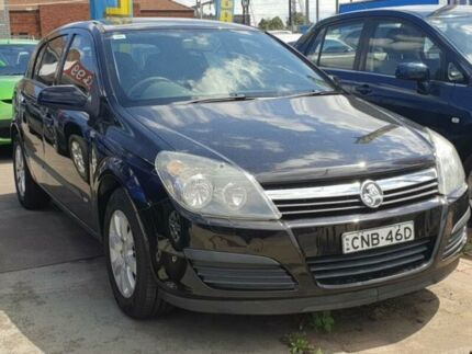 2006 Holden Astra AH MY06.5 CD Black 4 Speed Automatic Hatchback Granville Parramatta Area Preview