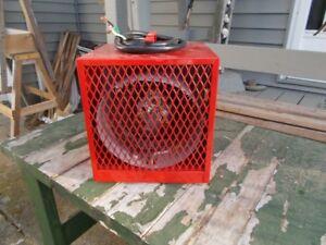 three stelpro utility heaters