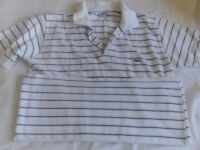 2 x Mens lacoste polo shirts both large original..not fakes!