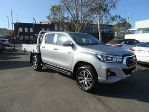 2019 Toyota Hilux GUN126R SR5 Double Cab Silver 6 Speed Manual Utility Nowra Nowra-Bomaderry Preview