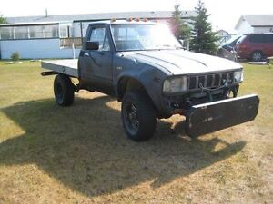 1983 Toyota 4X4 Pickup With Snowplow