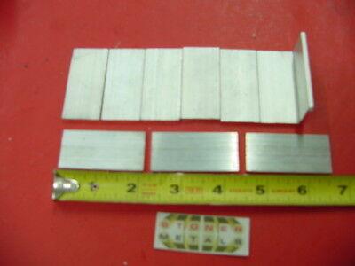 10 Pieces 18 X 1 Aluminum Flat Bar 2 Long 6061 T6511 New Mill Stock
