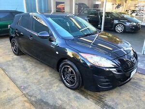 2011 Mazda 3 BL 10 Upgrade Neo Black 6 Speed Manual Hatchback Hobart CBD Hobart City Preview
