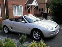 2001 mgf silver low mileage automatic