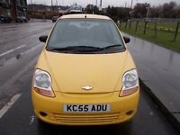 CHEVROLET MATIZ 1.0 SE 5 DOOR HATCHBACK 55 REG,, ONLY 55,000 MILES ,, MOT DECEMBER 2017
