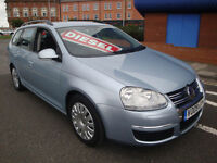 09 VOLKSWAGEN GOLF TDI BLUEMOTION ESTATE DIESEL