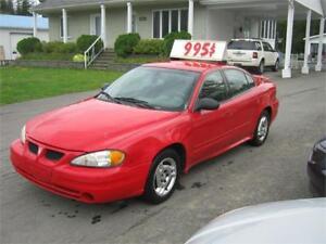 Pontiac Grand Am SE 2003 PETIT BUDGET !!!