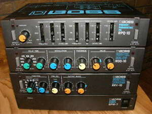 Boss Sound Effects Micro-Rack-Made in Japan.