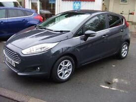 2014 Ford Fiesta 1.6TDCi 95ps ECOnetic Titanium 5 Door Hatch Zero Tax Only 8,750