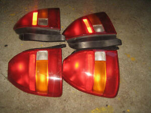 96 00 HONDA CIVIC EK9 OEM TAIL LIGHTS JDM CIVIC EK9 REAR LIGHTS