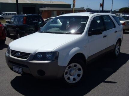 2006 Ford Territory White Sports Automatic Wagon Traralgon Latrobe Valley Preview