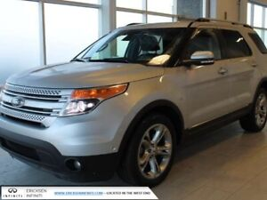 2013 Ford Explorer LIMITED/CLAIM FREE/4 WHEEL DRIVE/NAVIGATION