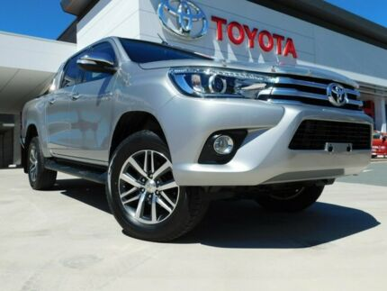 2017 Toyota Hilux GUN126R SR5 Double Cab Silver 6 Speed Sports Automatic Utility Greenway Tuggeranong Preview