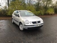 2004 VOLKSWAGEN POLO 1.2 E MOT JUN 18 IDEAL FIRST CAR MUST SEE 44,000 MILES £1650 OLDMELDRUM
