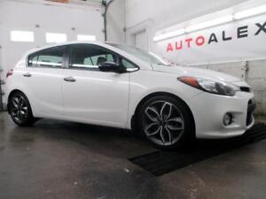 2015 Kia Forte 5 SX TURBO HATCHBACK CAMERA CUIR MAGS **36$/SEM**