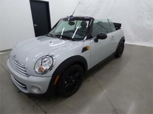 2015 MINI COOPER CONVERTIBLE (AUTOMATIQUE, CUIR, FULL, GARANTIE)