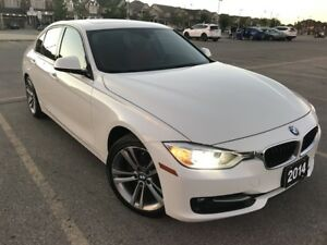 CANADA DAY SPECIAL $500 OFF! 2014 BMW 320i xDrive - White on Red