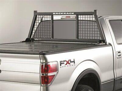 For Chevrolet Silverado 2500 HD Cab Protector and Headache Rack Backrack 57969VT