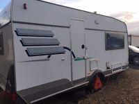 Hymer Nova 470 2 Berth Caravan 2001