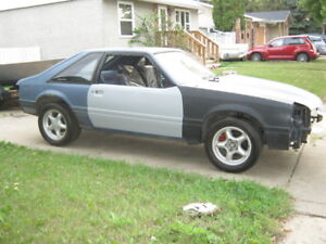 Parting Out Fox Body Mustang