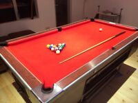 Pub Pool Table All Balls & Cues included for sale