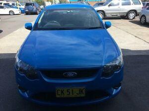 2009 Ford Falcon FG XR6 Blue Sports Automatic Sedan Sandgate Newcastle Area Preview