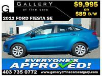 2012 Ford Fiesta SE $89 bi-weekly APPLY NOW DRIVE NOW