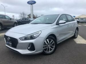 2018 Hyundai i30 PD MY18 Active Silver 6 Speed Sports Automatic Hatchback Kilmore Mitchell Area Preview