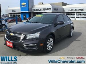 2015 Chevrolet Cruze 1LT | ONE OWNER | REAR CAM | AUTO