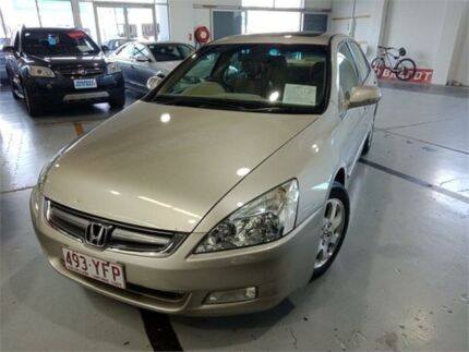 2006 Honda Accord 40 V6 Gold 5 Speed Automatic Sedan Fyshwick South Canberra Preview