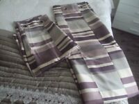 GORGEOUS NEXT FULLY LINED CURTAINS 66 INCH X 90 INCH 2 X PAIRS