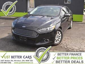 2015 FORD FUSION S with LEATHER is $47/week **** PRICE REDUCED!!