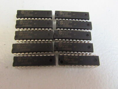 Philips 74hc373n Ic Integrated Circuit 20pin - Lot Of 10 Pieces New Usa Seller