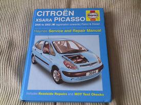 Citroen Picasso Xzara manual