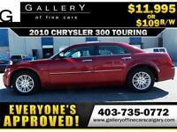 2010 Chrysler 300 TOURING $109 bi-weekly APPLY TODAY DRIVE TODAY