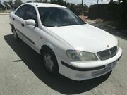 2001 Nissan Pulsar N16 ST White 4 Speed Automatic Sedan Mount Lawley Stirling Area Preview