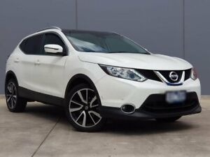 2015 Nissan Qashqai J11 TI White 1 Speed Constant Variable Wagon Berwick Casey Area Preview