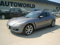 2005 Mazda RX-8 GT 6 SPD FULLY LOADED Coupe (2 door)