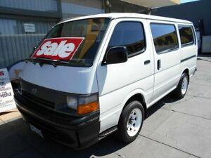 1996 Toyota HiAce RZH103R White 5 Speed Manual Van