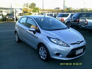 2012 Ford Fiesta WT CL Silver 6 Speed Automatic Hatchback Coopers Plains Brisbane South West Preview