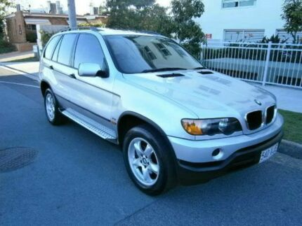2001 BMW X5 E53 Steptronic Silver 5 SPEED Semi Auto Wagon Redcliffe Redcliffe Area Preview