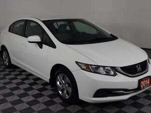 2014 Honda Civic Sedan LX w/Heated Seats-Bluetooth-Local Trade I