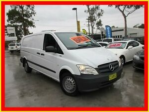 2011 Mercedes-Benz Vito 639 MY11 113CDI White 6 Speed Manual Van North Parramatta Parramatta Area Preview