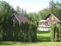 Large private holiday cabin for rent