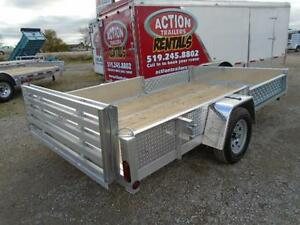 12' ALUMINUM UTILITY - TONS OF FEATURES AT A LOW PRICE! London Ontario image 4