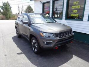 2018 Jeep Compass Trailhawk 4x4 for only $239 bi-weekly all in!