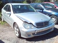 MERCEDES W203 C CLASS BONNET SILVER 744 CODE £50 BREAKING ALLOYS,BUMPERS,SEATS,DOORS for sale  Newcastle-under-Lyme, Staffordshire