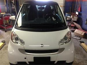 2012 smart fortwo Pure,PW,PL,AC,LEATHER,CERTIFIED E-TEST
