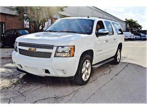 2008 Chevrolet Suburban LTZ, NAVIGATION, DVD, LEATHER, SUNROOF