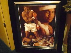 Muhammed Ali Robe and Print Signed